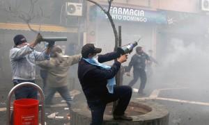 """Manifestaciones: Ediles prohibirán la utilización de """"morteros con bomba"""""""