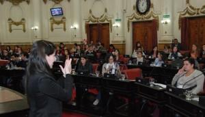 Derechos y Discapacidad: Parlamento Juvenil solicitó más inclusión social y educativa