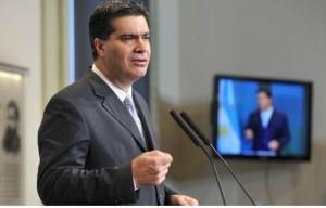 Capitanich pidió «coherencia» a la oposición