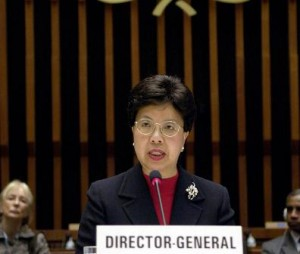 dra. margaret chan discurso OMS