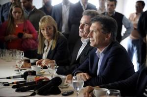 Ante quienes agitan el miedo, Macri destacó que el cambió comenzó y no se detiene.