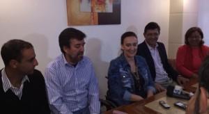 En Villa Dolores, se conformó el frente electoral PRO, UCR y Juecismo