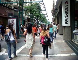 peatonal gente
