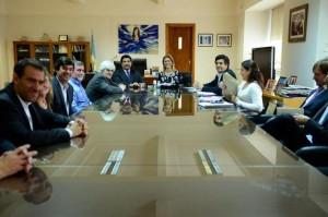 Giorgi y Echegaray firmaron las primeras reinscripciones a la Ley de Software