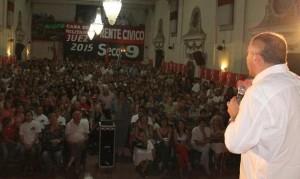 Luis Juez en plenario Capital