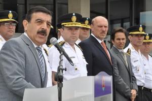 """Policía recibió nuevos móviles y equipamiento para """"reforzar seguridad"""""""
