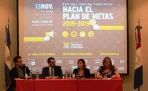 Debatieron en Córdoba sobre el Plan de Metas 2015