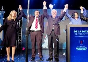 La Democracia Cristiana proclamó a DLS como su candidato presidencial