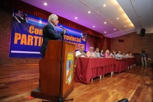 El PJ cordobés se encolumnó para dar respaldo a la candidatura de DLS Presidente