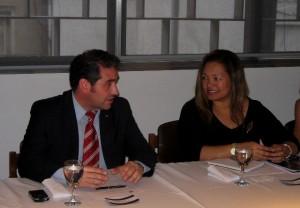 Marcado optimismo, tras el encuentro entre el Foro Empresario y la Embajada de Estados Unidos