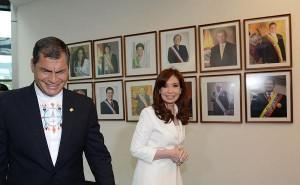 En inauguración de la sede de la Unasur, CFK reforzó planteo de independencia económica