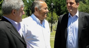"""Massa se juntó con su """"amigo"""" El Adolfo, en San Luis"""
