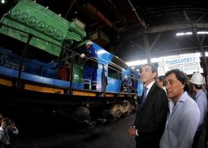 Randazzo anunció una inversión de $3.250 millones para obras del ferrocarril entre Córdoba y Rosario