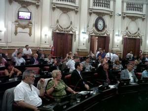 La mayoría oficialista aprobó el Presupuesto 2015. Rechazo del arco opositor