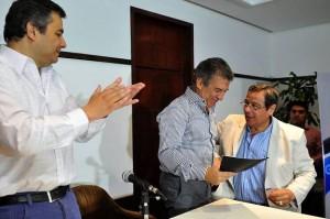 Rumbo al 2015: Intendentes K dieron su respaldo a Urribarri en su camino a la presidencia
