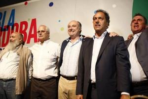 Dos presidenciables identificados con el modelo K, dieron su apoyo a Accastello Gobernador 2015