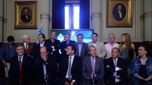 Muestra de unidad de la oposición en rechazo a la designación de un juez electoral