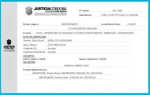 ordenes de apgo electronica Justicia