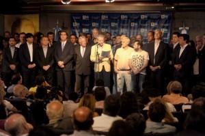 Consejo PJ respaldo a CFK