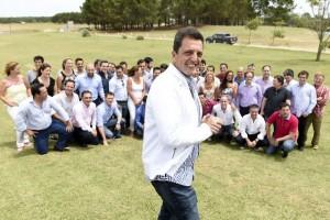 """Massa: """"Tenemos la responsabilidad de construir la Argentina que viene"""""""