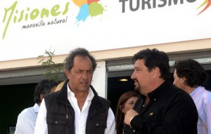 Scioli y closs en mar del plata