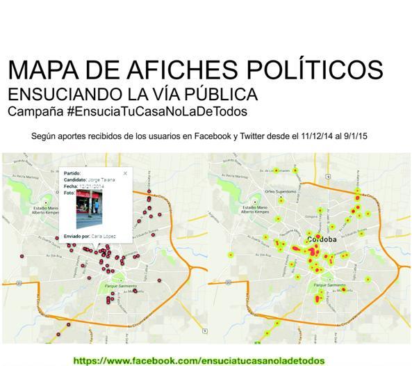 mapa afiches politicos