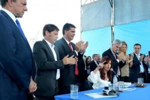 """""""Este Gobierno no permite que nadie le marque la cancha"""", dijo CFK"""