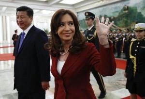 CFK y su par chino ingreso