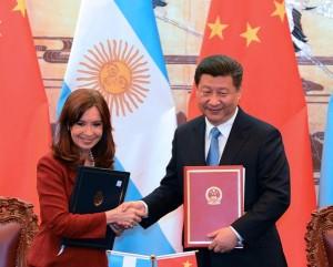 CFK y su par chino twitter