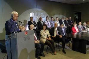 Efecto Nisman/AMIA: Junto a representantes de la DAIA, De la Sota convocó a acompañar el reclamo de los fiscales #18F