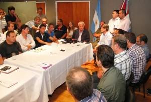 DLS e intendentes comite de crisis