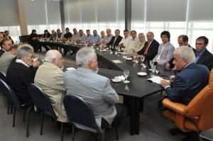 En diálogo con ruralistas, empresarios y sindicalistas, De la Sota repasó medidas encaradas por la emergencia en Sierras Chicas