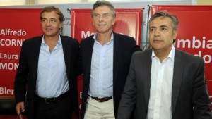 Tras lecturas disímiles (Cobos-Sanz) del triunfo aliancista de Suárez, Macri se mostró junto al radical vencedor