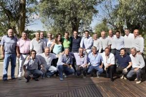 Massa e intendentes en malvinas argentinas