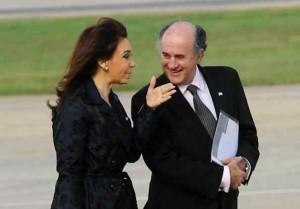 Parrilli y CFK
