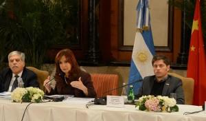 "CFK  destacó que la alianza con China es ""estratégica e integral"""