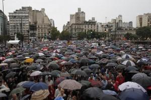 Presidenciables opositores opinaron sobre la marcha #18F