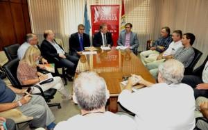Ministros de tres provincias se reunieron por situación de la lechería
