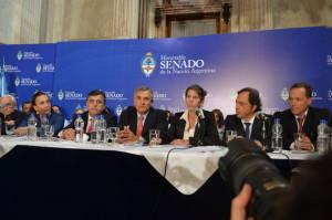 Audiencia: La oposición debatió en torno a la creación de la AFI y caso Nisman
