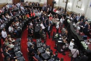 """Oposición tildó de """"chato"""" y pensando más en su candidatura presidencial, el discurso de De la Sota"""