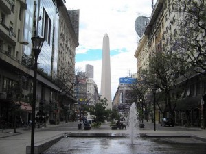 vista CABA obelisco
