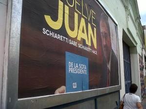 Juecismo acusa a Schiaretti de propaganda electoral radial ilegal