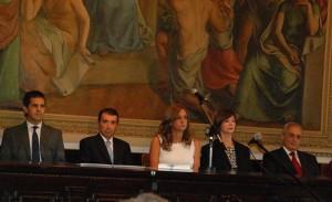 Alicia Pregno presidió el acto de asunción del vocal del TSJ y del Fiscal Adjunto PRENSA LEGISLATURA