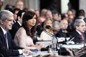 """Ante la Asamblea Legislativa, CFK afirmó: """"Hemos desendeudado definitivamente a la Argentina"""""""