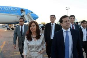 CFK con recalde y presidenciables FPV
