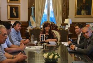 CFK convenio con FAA Despacho