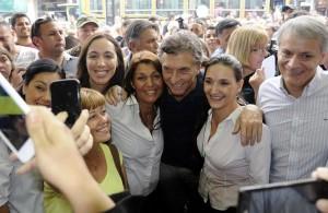 """Para Macri, """"semana a semana"""" la gente se vuelca al cambio"""