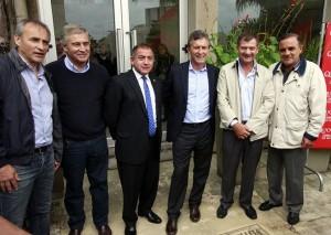 Macri presentó al empresario Felippa como su candidato a la gobernación