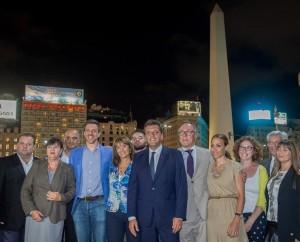 """Elecciones: Nielsen y Tundis encabezan el """"equipo"""" de Massa para la Ciudad"""