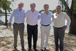 Acuerdo/Elecciones: Macri y Sanz muestran espacio de confluencia en Entre Ríos